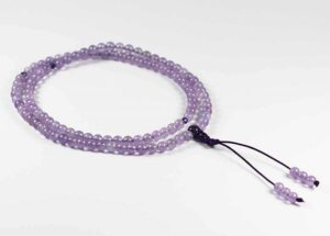 Amethyst 108 Mala Beads Healing Properties (6mm) - Gallery